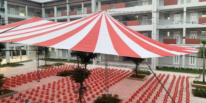 Cho thuê dù sự kiện giá rẻ tại Lai Châu