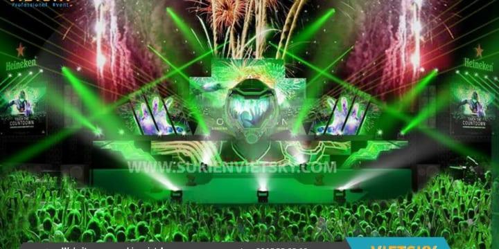 Cho thuê sân khấu sự kiện giá rẻ tại Yên Bái